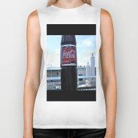 coke Biker Tanks featuring Industrial Coke by Vorona Photography