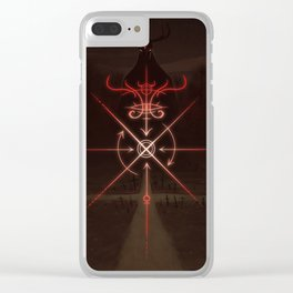 Sigil of the Crossroads Clear iPhone Case
