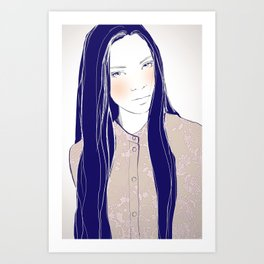 Are you sure? Art Print