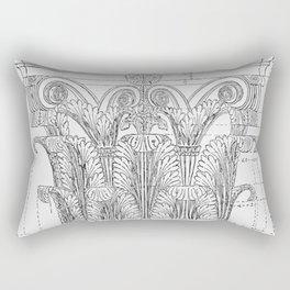 Corinthian column Rectangular Pillow