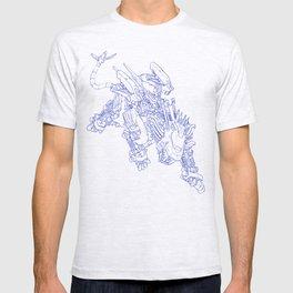 Blade Liger - Royal Blue Ink T-shirt
