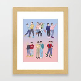 Our Thirteen Framed Art Print
