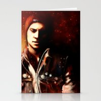 infamous Stationery Cards featuring InFAMOUS: Second Son by Kate Dunn