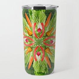vegan mandala Travel Mug