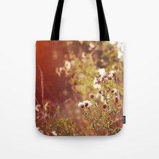 golden dandelions. Tote Bag