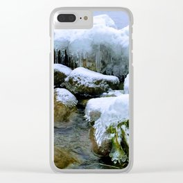 Where am I? Clear iPhone Case