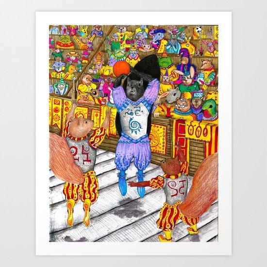 Norbel Semaj Art Print