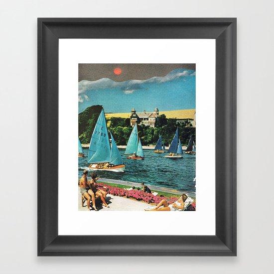 relax in oregon... Framed Art Print