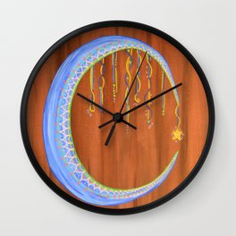 Dream of the MOON Wall Clock