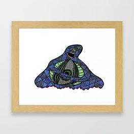 The All-Seeing Eyeball Framed Art Print