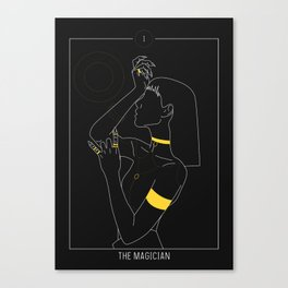 The Magician - Tarot Illustration Canvas Print