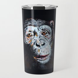 Chimpanzee: One Survivor Travel Mug