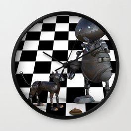 Dangers of Artificial Intelligence Wall Clock