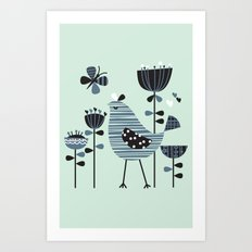 Chirpy Chirp Tweet Art Print