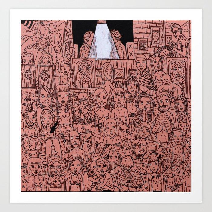 Lovelust Art Print