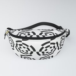 Tribute to Vasarely 2 -visual illusion Fanny Pack