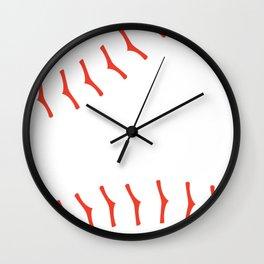 Play Ball - Baseball America's Pastime Wall Clock