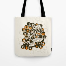 5 Year Mission Tote Bag