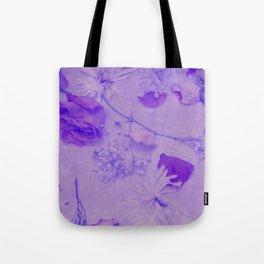 Flower Bath Tote Bag
