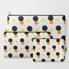 Paint Mix Splash Color Abstract Orange Yellow Carry-All Pouch