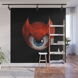 The Eye of Rampage Wall Mural