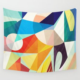 Around The Circle Wall Tapestry
