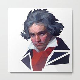 Beethoven Metal Print