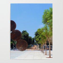 Tel Aviv photo - Habima Square - Israel Poster