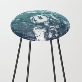 Inky Shadows - Blue edition Counter Stool