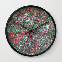 Nine colors Wall Clock