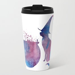 Witch Cat Travel Mug