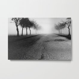 Pearly road Metal Print