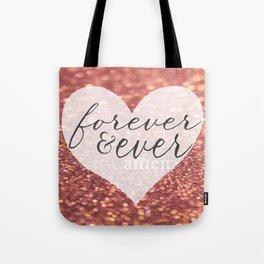Forever And Ever Amen. Tote Bag
