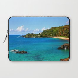 Waimea Bay ... By LadyShalene Laptop Sleeve