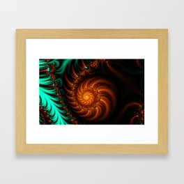 Fractal - She Sells Sea Shells Framed Art Print