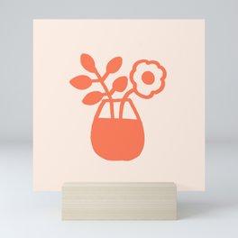 Flowers on the Table Mini Art Print