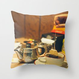 tea for one Throw Pillow