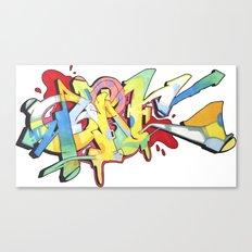 New School QUONE Piece Canvas Print
