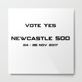Newcastle 500 Metal Print