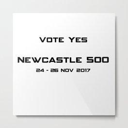 Newcastle 500 Metal Print