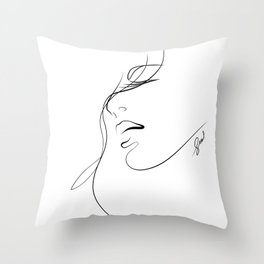 closely.w Throw Pillow