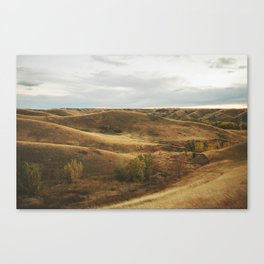 Coulees in the Fall Canvas Print