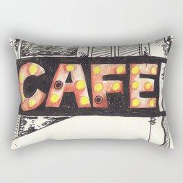 Cafe de Paris Rectangular Pillow