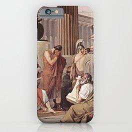 Francesco Hayez - Ulysses at the court of Alcinous iPhone Case