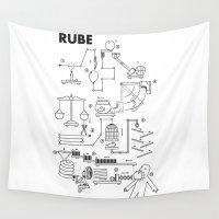 swedish Wall Tapestries featuring Rube by Joe Van Wetering