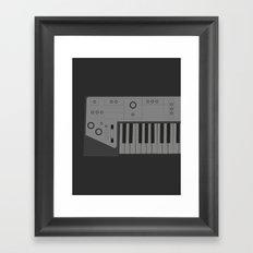 Synth Framed Art Print