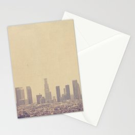 Los Angeles Skyline Photo. Southland Stationery Cards