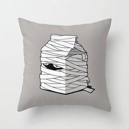 Very Long Life Milk Throw Pillow
