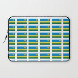 Flag of rwanda -rwanda,Rwandan,rwandais,ruanda,Gasabo,kigali. Laptop Sleeve