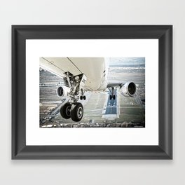 Positive rate.. gear up Framed Art Print